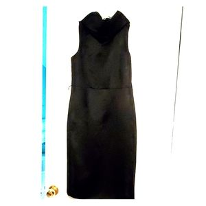 Cocktail  dress never worn needs black patent